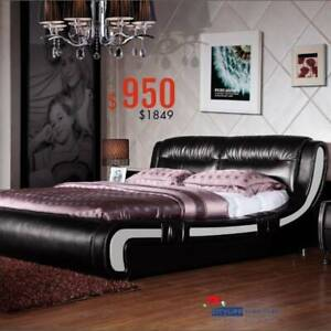 Brand New LAVISH II Modern Bed Frame in Queen size * Excellent quality