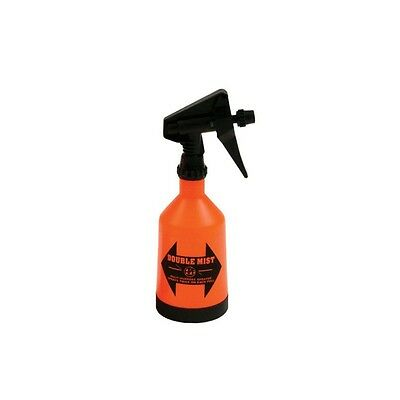 Kwazar Double Mist Sprayer Bottles Wide Base Adjustable Nozzle 12 Liter