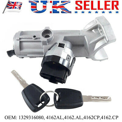 Ignition Steering Lock Barrel Lock For Fiat Boxer Ducato Citroen 1329316080 7Pin