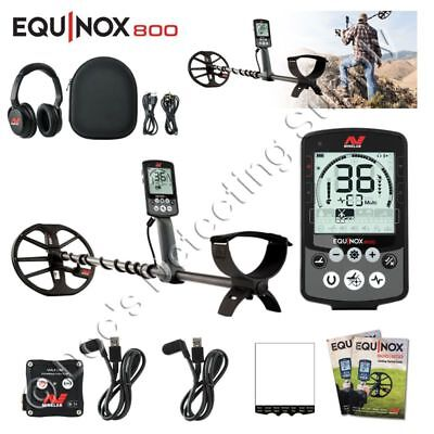 Minelab Equinox 800  from Doc, Authorized Minelab Dealer, Certified Gold Trainer
