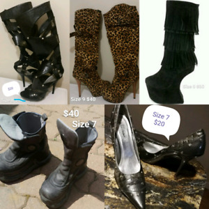 High Heels Boots (price/size on pics)