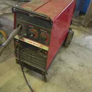 lincoln 255 mig welder same as miller 250