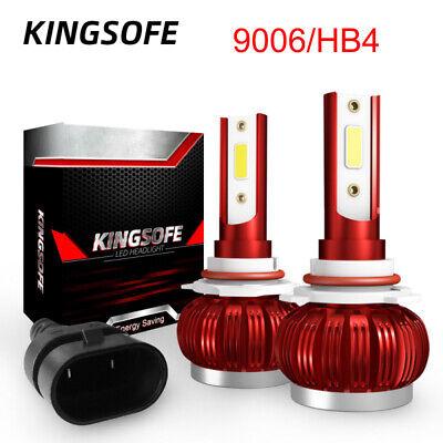 1 Paar 9006 HB4 Cob LED Scheinwerferlampen 12V/24V Leuchten Kit 6000K Weiß