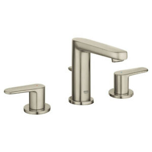 "Grohe 20302ENA Europlus 8"" Widespread S Size Bathroom Faucet Bru"