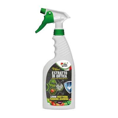 Estratto di Ortica Insetticida Fungicida Acaricida Naturale Bio Spray 750 ml