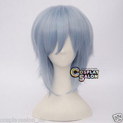 Anime Idolish7 Tamaki Yotsuba Cosplay Wig Hell Blau Kurz Perücke Haar Fashion