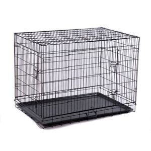 Large Dog Crate - New Condition.  Used for one week.  Cleaned.