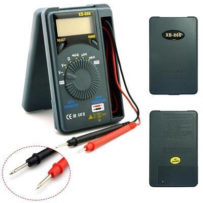 Lcd Mini Auto Range Acdc Pocket Digital Multimeter Voltmeter Tester Tool Gr