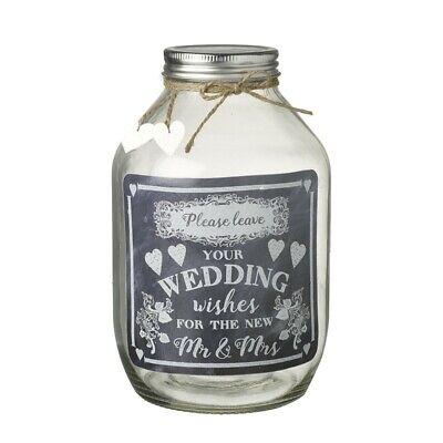 Wedding Gift Bags Ideas (Heaven Sends Wedding Day Guest Wish Jar - Engagement Gift Idea - Guest)