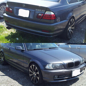 Summer tires and rims for bmw 3 series