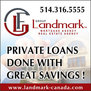 PRIVATE LOANS West Island Greater Montréal image 1