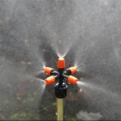 GARDEN SPRINKLER ATOMIZATION LAWN WATERING WATER GRASS SPRINKLER 5 HEADS