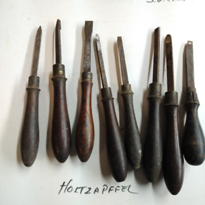 Holtzapffel and H & D ornamental turning tools