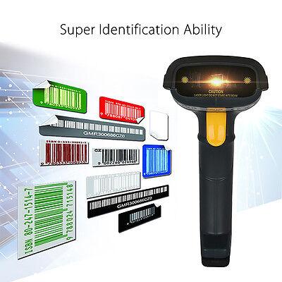 Drahtloser, schnurloser, tragbarer Barcode-Laser-Scanner-Leser mit Ladestation (Tragbare Barcode-scanner)