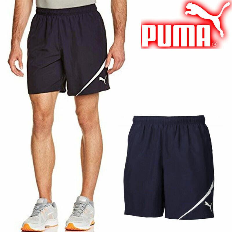 a6877d84e3 Details about PUMA Spirit Training Shorts Men's Team Wear Navy Football  Shorts