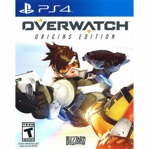 PS4 game, Overwatch Origins Edition