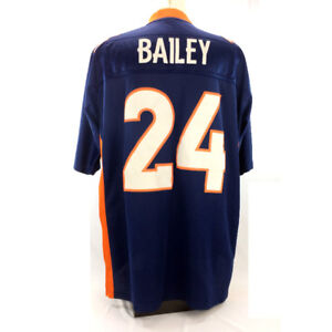 Champ Bailey Jersey Denver Broncos Home Stitched Embroidered 2XL
