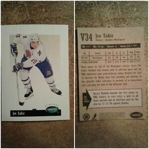V34 : Joe Sakic : Parkhurst Vintage : Hockey Card
