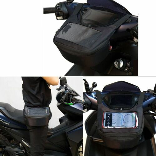 Motorcycle Fuel Saddle Multifunctional Oil Tank Phone Touch Screen Earphone Bags