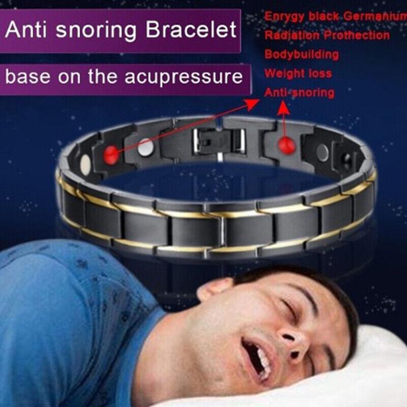 Magnetic Bracelet Anti-snoring Health Care Anti Snore Wrist