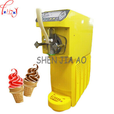 Commercial Soft Ice Cream Machine 16lh Soft Serve Home Made Ice Cream