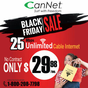 Cannet Black Friday Exclusive Cable Offer