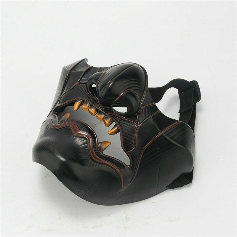 Game Ghost of Tsushima Sakai Mask Devil Demon Oni Samurai Halloween Cosplay US Accessories