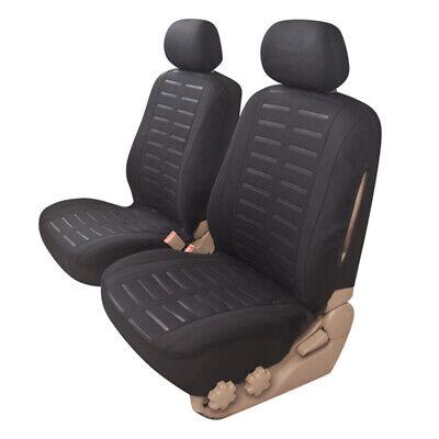 Coprisedili Auto Universale Nero Fodere Set Copri-sedile Universali