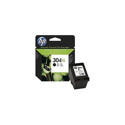 ORIGINAL HP Cartuccia d'inchiostro nero N9K08AE 304 XL ~300 copie
