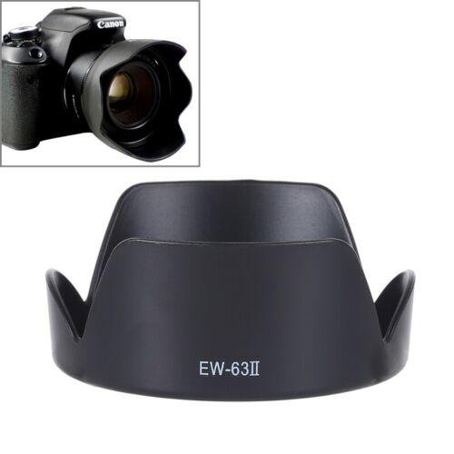Lens Hood Shade for Sport Cameras case EW-73C Lens Hood Shade for Canon EF-S 10-18mm F4.5-5.6 Lens PVC Material for Sport Cameras