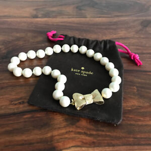 Collier de perles Kate Spade Pearl necklace