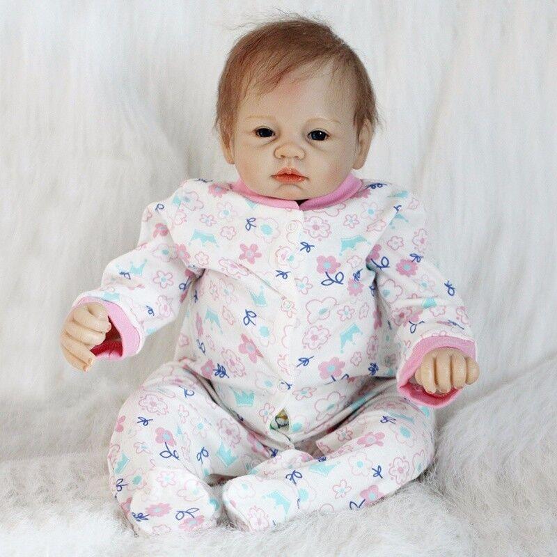 "REAL NEWBORN 22"" Handmade Lifelike Baby Doll Reborn"