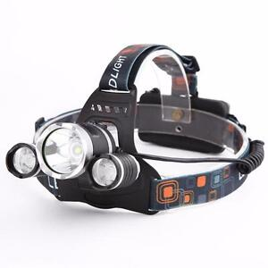 Rechargeable 4000LM LED Headlight Head Lamp