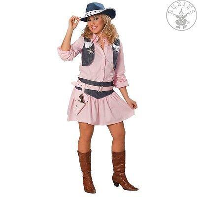 RUB 13507 Fasching Karneval Damen Kostüm Cowboy Cow - Rosa Cowgirl Kostüme