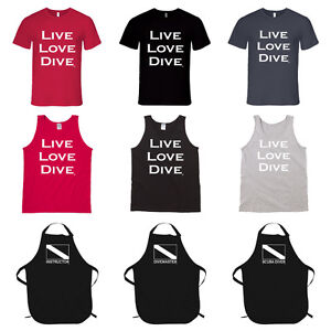 NEW Scuba Diver Hoodies, T-shirts, Tank Shirts, Aprons GIFTS