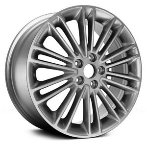 "set of 4 18"" Ford factory aluminum rims"