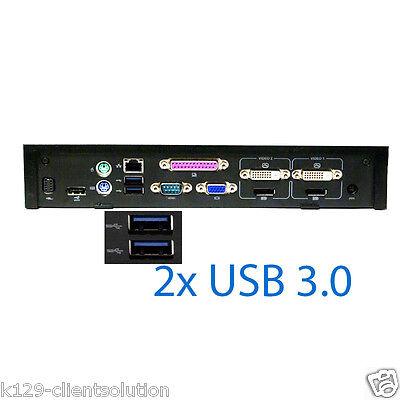 Dell E-Port Plus Advanced Port Replicator II (PR02X) mit USB 3.0