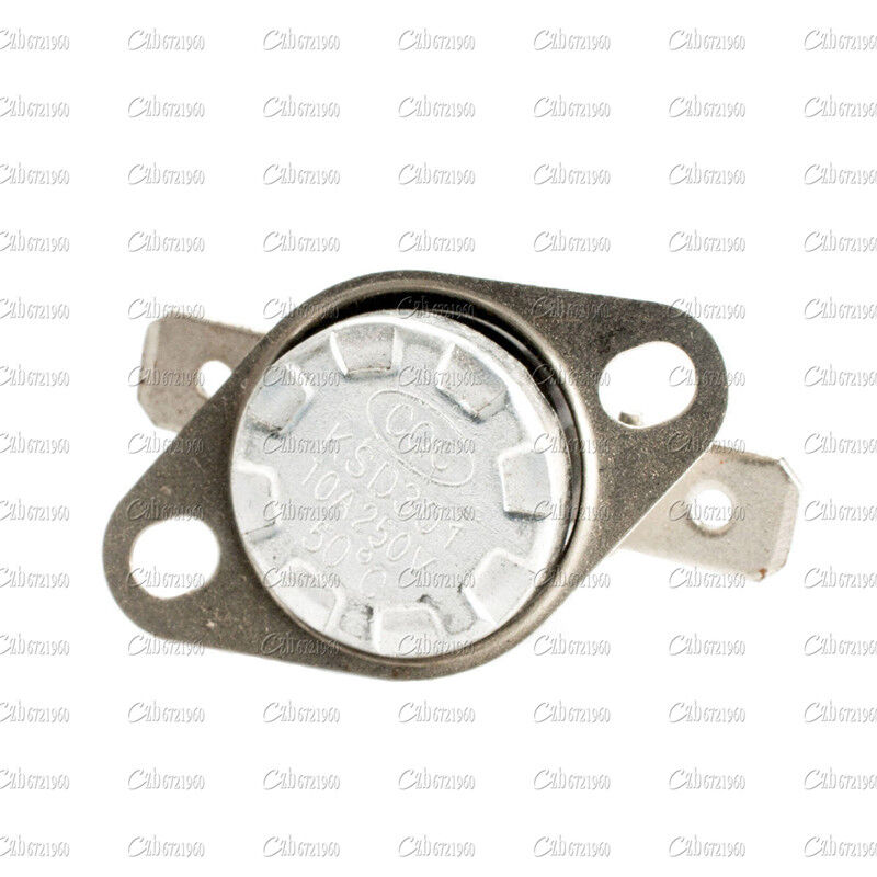 KSD301 176°F 80°C Degree Celsius NC N.C Temperature Switch Thermostat 250V 10A