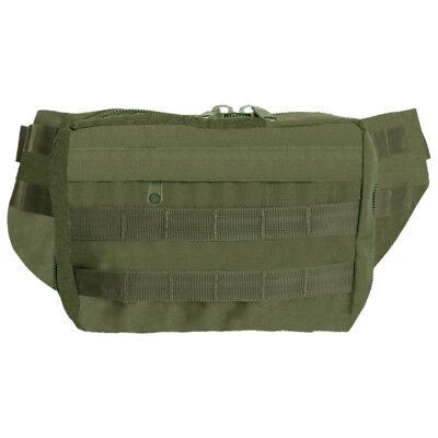 Tattica Pistola Porta Caso Gun Carry Hip Bag Molle Airsoft Sicurezza Verde Oliva