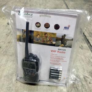 2 Radios VHF de 3 watts Cobra MR HH125