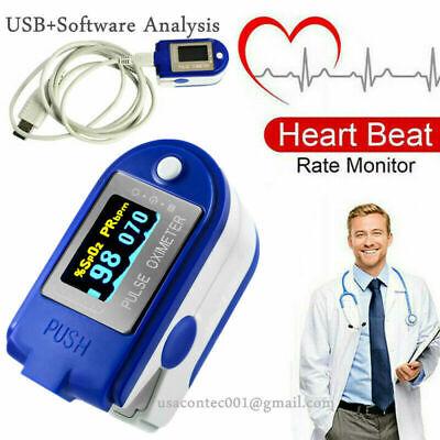 Cms50d Plus Fingertip Blood Oxygen Pulse Oximeter Usb Software Fda Ce Contec