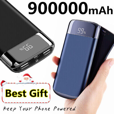 Portable 900,000mAh Power Bank Best Choice 2USB Polymer Backup Battery (Best Portable Power Charger)