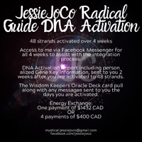 The Radical Guide DNA Activation