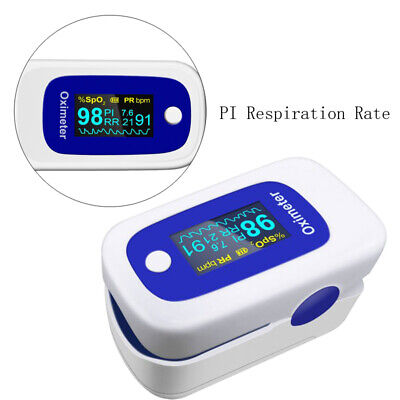 Color Oled Fingertip Pulse Oximeter With Audio Alarm Pulse Sound -spo2 Pr Pi