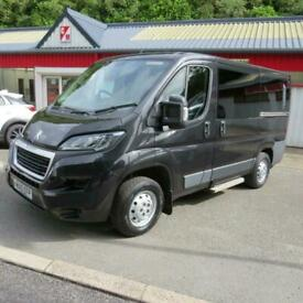 Peugeot BOXER 333 L1H1 Mpv Base Window Camper Day Van With Air Con Diesel Heater
