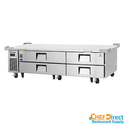 Everest Ecb82-86d4 86 Four Drawer Chef Base