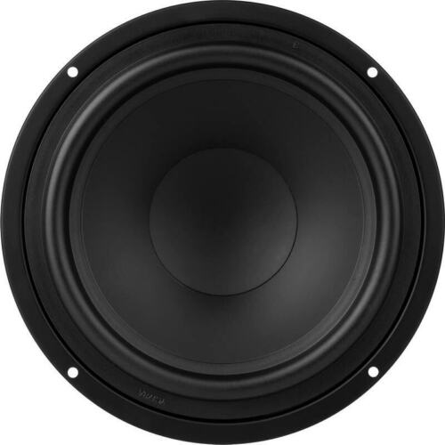 """2-DynaLab 8"""" Woofers Poly Treated Cones 4ohm Home & Car DIY NEW PAIR"""