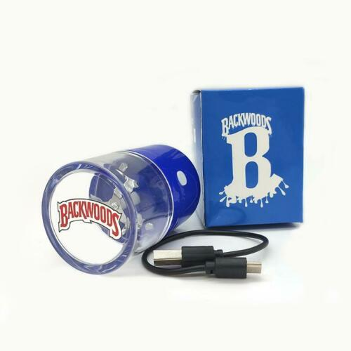 Backwoods Rechargeable Handheld Small Electric Metal Grinder - FAST SHIP