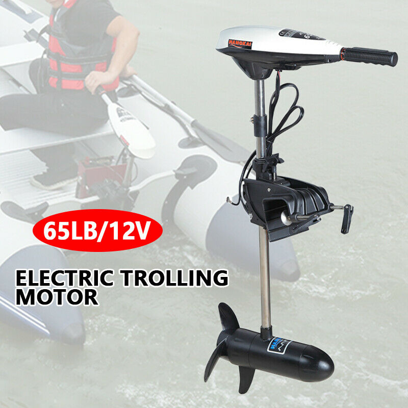 Sale 65LB Outboard Engine Electric Trolling Motor Inflatable Fishing Boat Engine