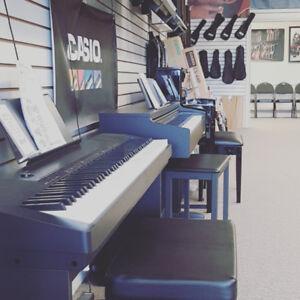 Casio CDP135 Digital Piano w/stand